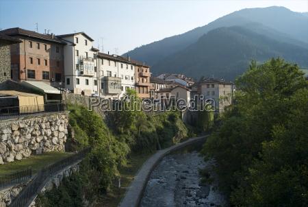 deva river potes cantabria spain europe