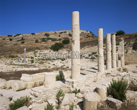 site of amathous amathus cyprus europe