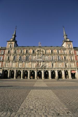 plaza mayor madrid spain europe