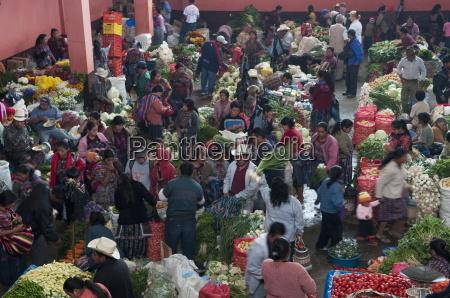 chichicastenango market guatemala central america