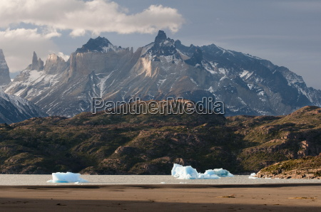 lago grey torres del paine national