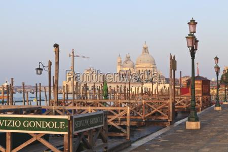riva degli schiavoni and santa maria
