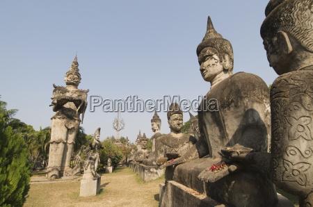 buddha park xieng khuan vientiane laos