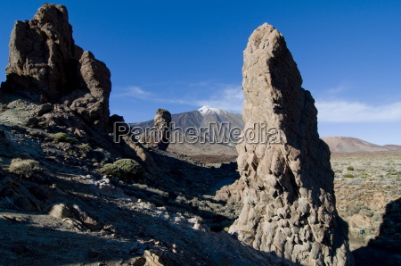 giant rock formations in front of