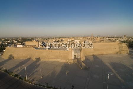 fortress ark bukhara uzbekistan central asia
