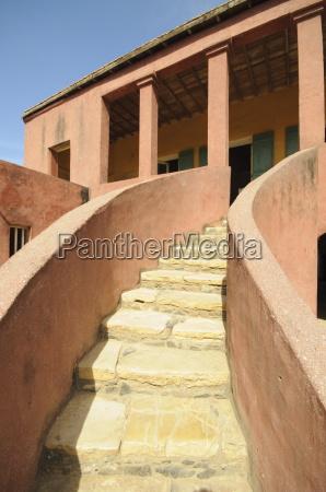 maison des esclaves slaves house goree