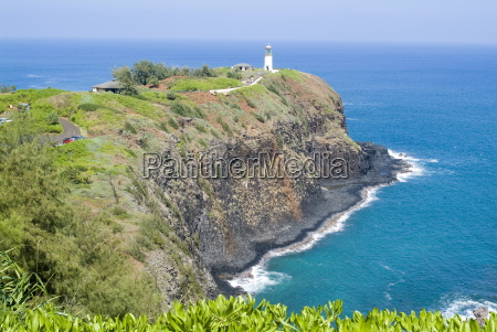 kilauea lighthouse kilauea point national wildlife