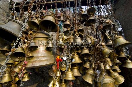 luck bells for the pilgrims in