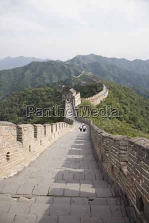 the great wall at mutyanyu unesco