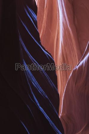 eroded curves in sandstone upper antelope
