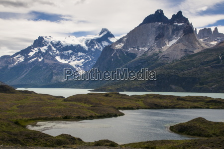 glacial lakes before the torres del