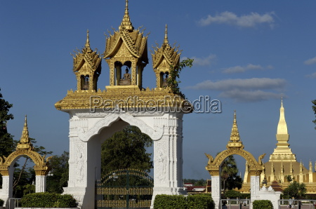 that luang stupa built in 1566