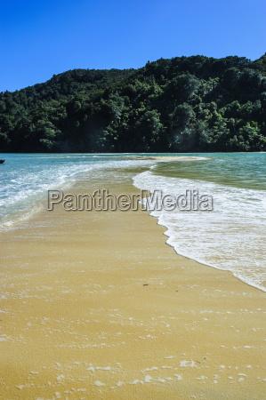 sand split in the abel tasman