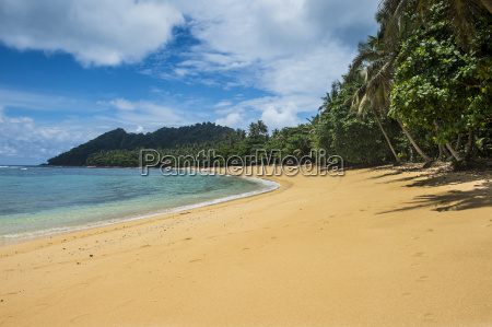 beach of praia cabana in the