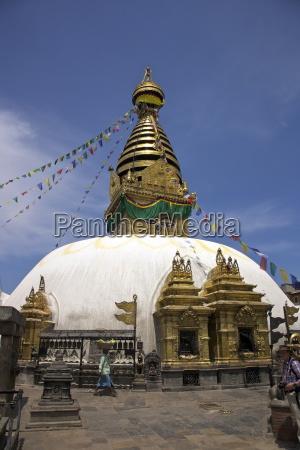 swayambhunath stupa monkey temple unesco world