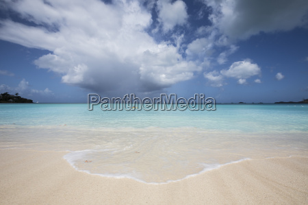 fine white sand surrounded by the