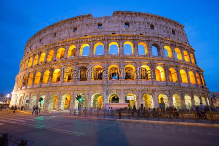 the colosseum unesco world heritage site