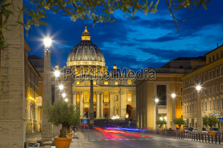 st peters and piazza san pietro