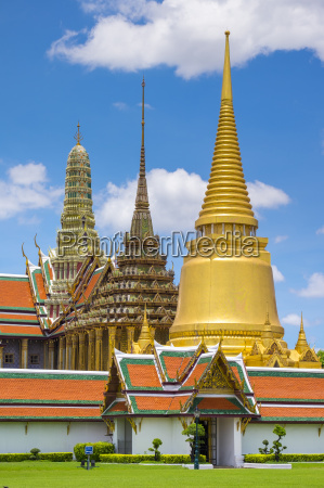 spires of the temple of the