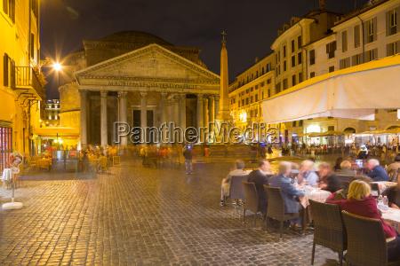 piazza della rotonda and the pantheon
