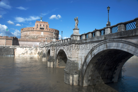 the ponte san angelo and hadrians