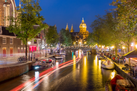 night amsterdam red light district de