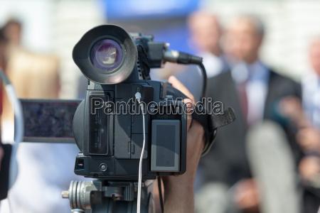 news conference spokesman