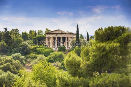 temple of hephaestus the agora athens