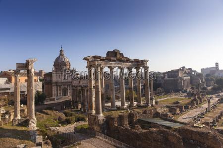 temple di saturno the roman forum