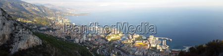 panoramic view of the principality of