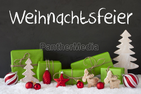 decoration, , cement, , snow, , weihnachtsfeier, means, christmas - 19122077