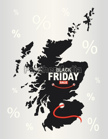 black friday map scotland