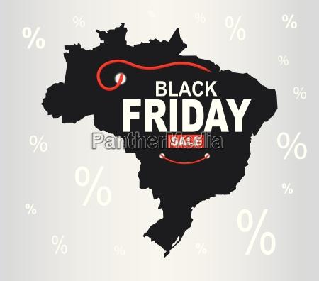 black friday map brazil
