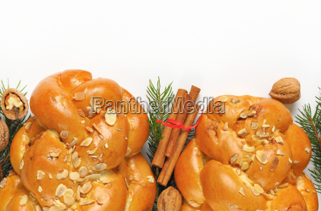 christmas, sweet, braided, bread - 19127451