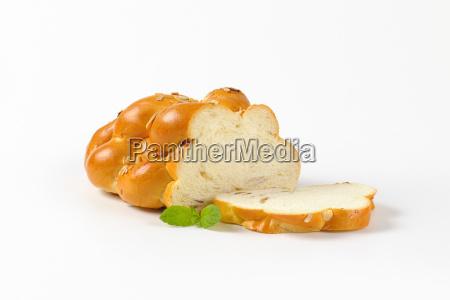 czech christmas bread vanocka