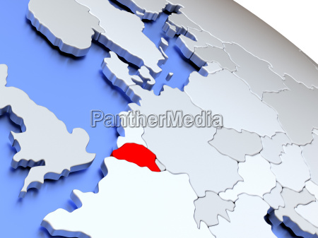 belgium on world map