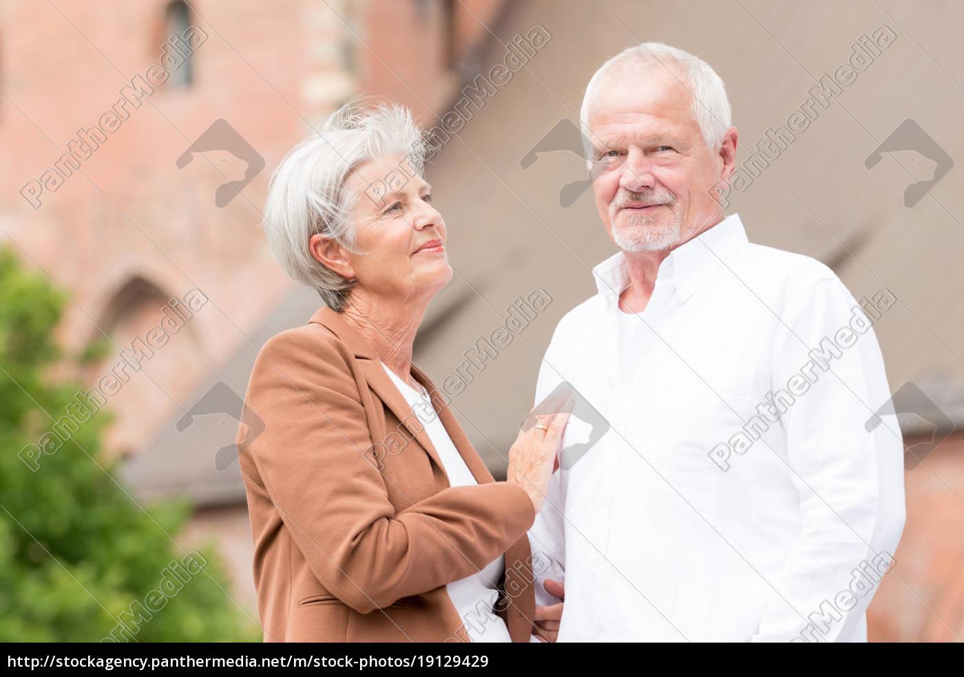 happy, seniors, couple - 19129429