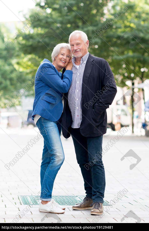 happy, seniors, couple - 19129481