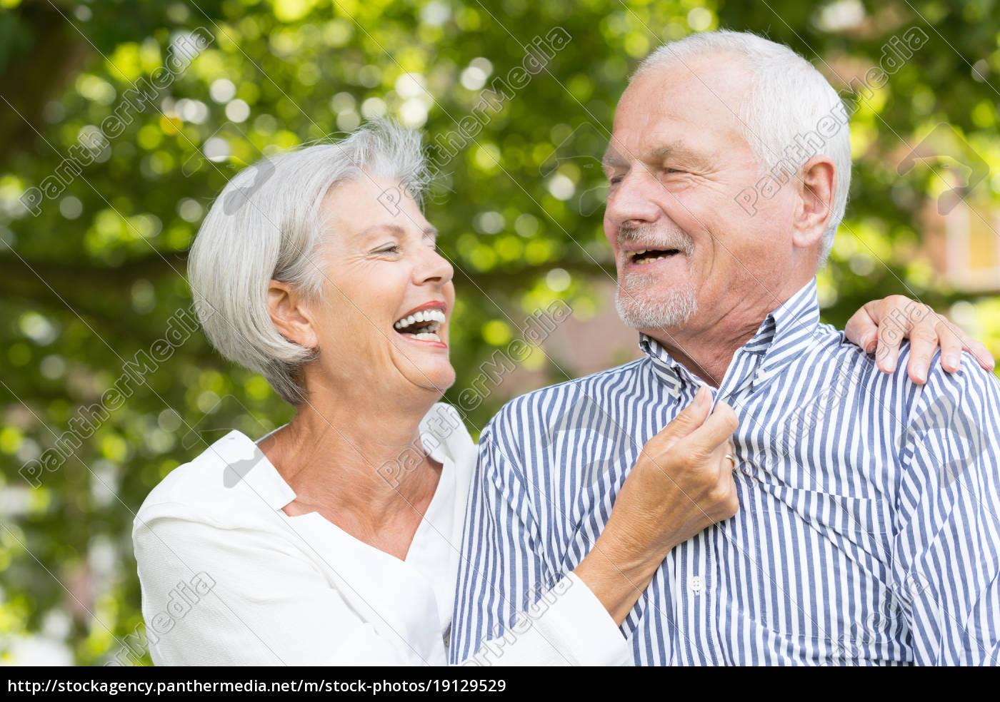 happy, seniors, couple - 19129529