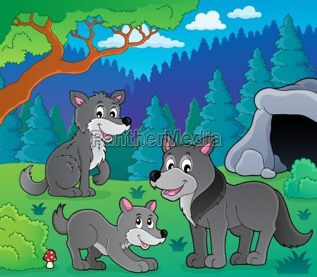 wolves theme image 1
