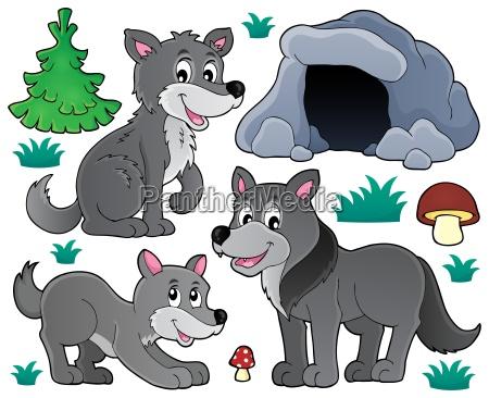 wolves theme set 1