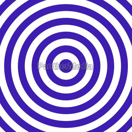 target blue white