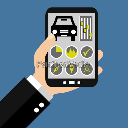 car control with your smartphone
