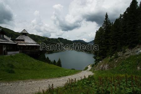 turracher see carinthia austria