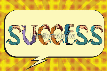 success letters business people