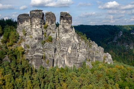 saxon switzerland national park elbe sandstone