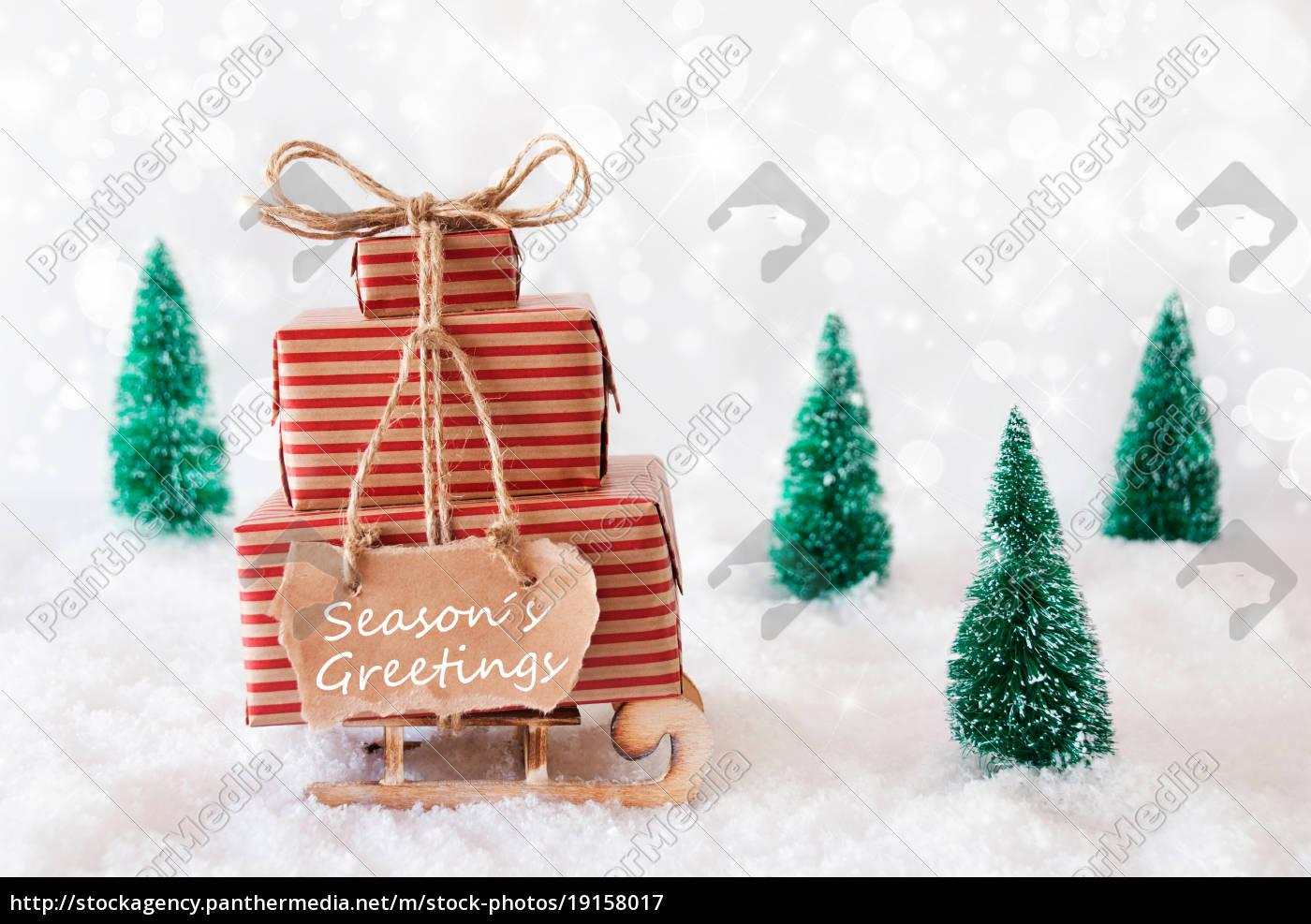christmas, sleigh, on, snow, , seasons, greetings - 19158017