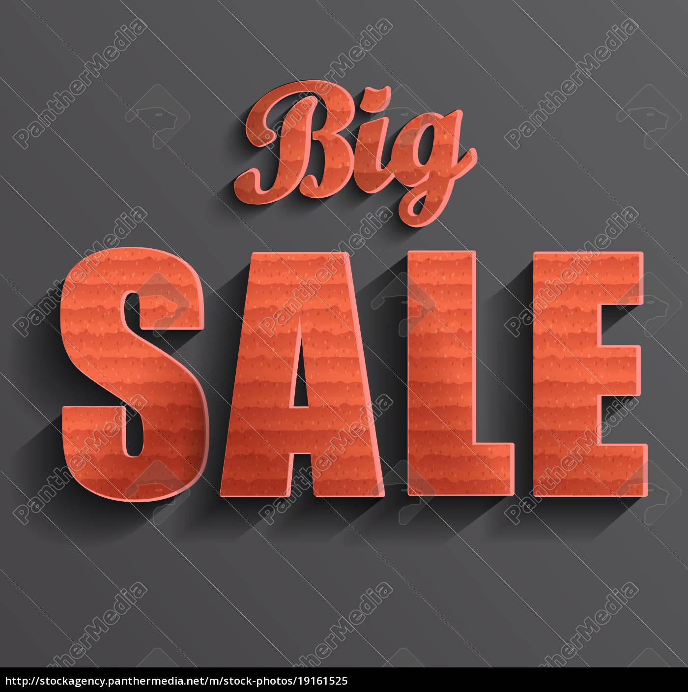 big, sale, banner - 19161525