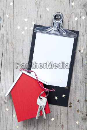 creative, christmas, background, with, a, key - 19161405