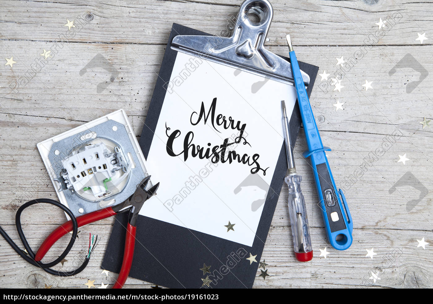 creative, christmas, card, for, at, electrican - 19161023